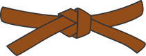 479px-Judo_brown_belt_svg