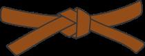 479px-Judo_brown_belt_svg